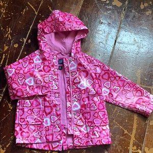 Baby gap lined raincoat 4t